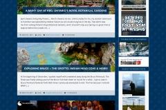 2016: Travel Blog Layout