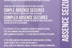 2015: Epilepsy Information Poster - Alternate Version